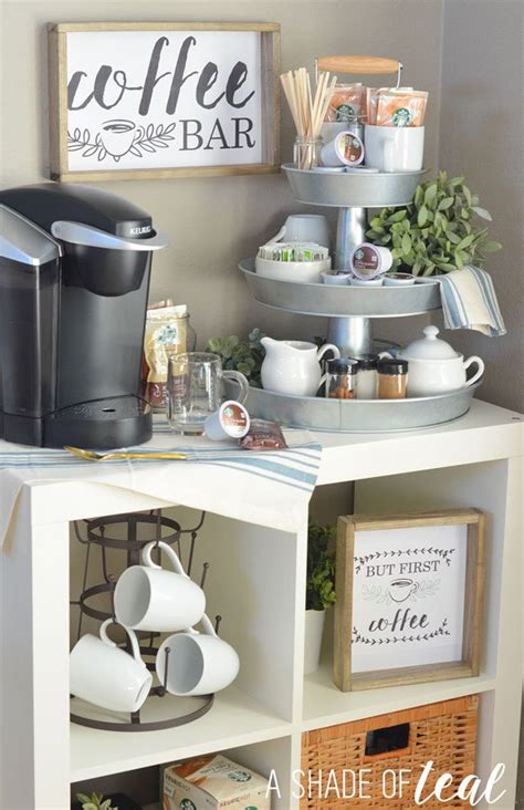 kitchen coffee bar ideas how to setup a 3 tier coffee bar plus free printables