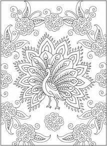 peacock coloring pages for adults mehndi coloring pages selfcoloringpages
