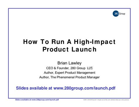 How To Run A High Impact Product Launch Product Launch Email Template
