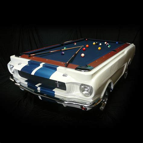 mustang pool table 1965 shelby gt 350 pool table the green