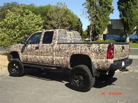 hunting truck camo truck camo wraps for silverado exterior page 2
