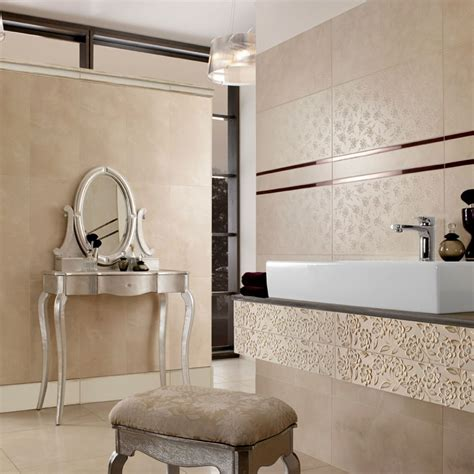 villeroy and boch tiles for bathrooms villeroy boch ivoire decor tile 2394 30 x 60cm uk bathrooms