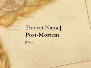 project post mortem template 18 best images about project mgmt on models