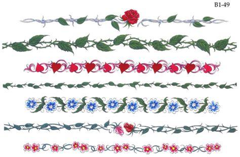 tatuaggio bracciale fiori flash gratis per tatuaggi disegni per tatuaggi tatuaggi e