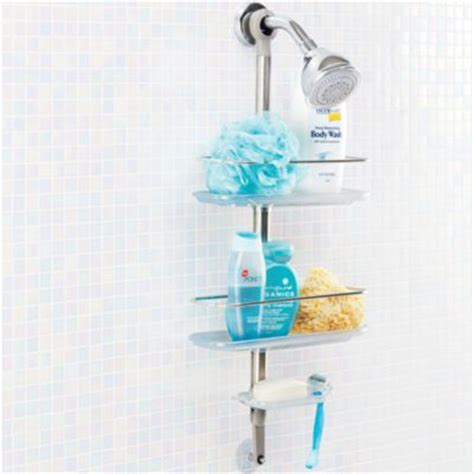 Simplehuman Stainless Steel Tension Pole Shower Caddy by Buy Simplehuman 174 Stainless Steel Tension Shower Caddy From
