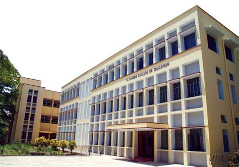 Xavier Mba Accreditation by St Xavier S College Of Education