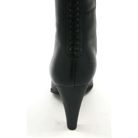 solemani s paradise black leather boots narrow calf 179 99