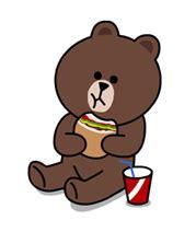 Line brown bear galaxy note 3 case kawaii case