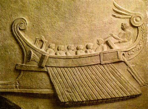 navi persiane barcos griegos en el fondo mar mediterr 225 neo