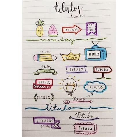 como decorar titulos para cuadernos m 225 s de 25 ideas incre 237 bles sobre decorar cuaderno en