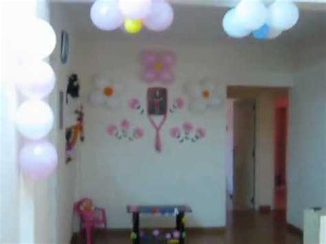 birthday decoration idea at home for my 2 yr princess