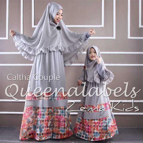 Gamis Caltha Caltha 3 Grey Baju Muslim Gamis Modern