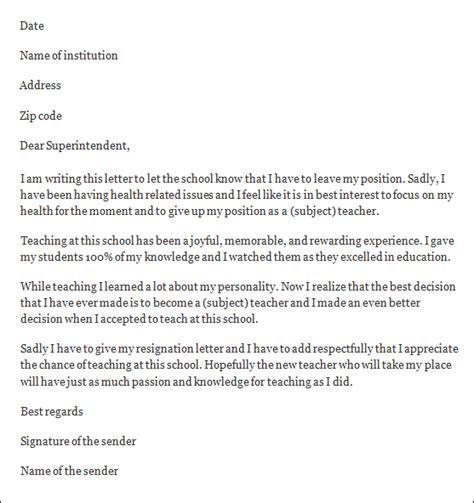 Resignation Letter Principal Resignation Letter Format Resignation Letter To Principal Uncomfortable Situation