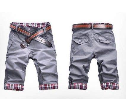 S Oliver Celana Pendek Motif Kotak celana pendek dewasa motif kotak kotak lipatan