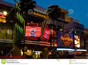 Los angeles usa march 4 2012 hollywood boulevard in the heart of