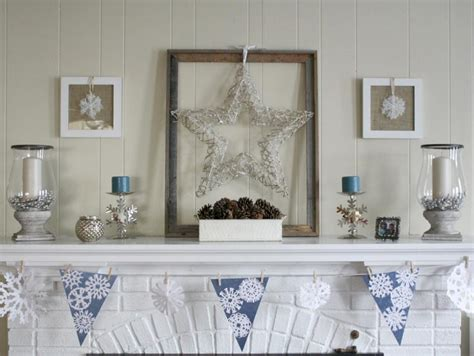 winter mantel decorating ideas decorate your mantel for winter hgtv