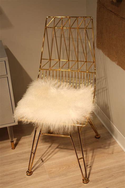 faux fur chair cushion tov fur seat cushion home decorating trends homedit
