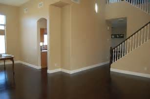 goodbye tan carpet hello espresso wood floors sweaters and pies