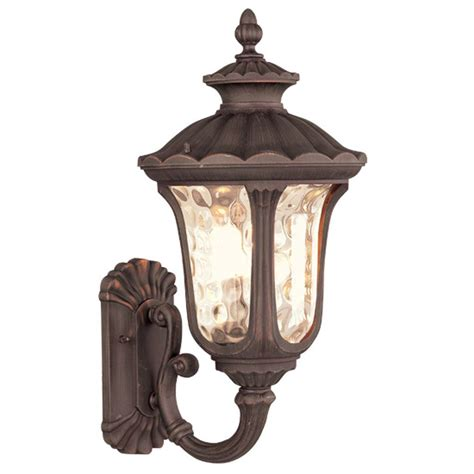 Clearance Light Fixtures Clearance 11w Livex Oxford Outdoor Wall Sconce Lighting Fixture Imperial Bronze Ebay