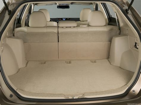 toyota venza length toyota venza cargo space dimensions