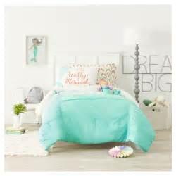 White Comforter Bedroom Design Ideas i m really a mermaid pillowcase standard white