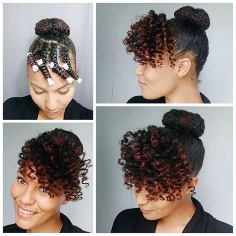 african american perm rod hairstyles for black 15 hot natural hairstyle tutorials for summer front