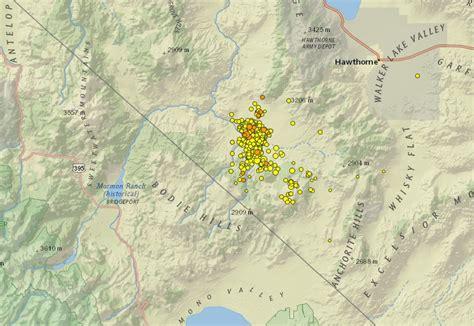 earthquake december 2017 strong earthquakes hit nevada california border region