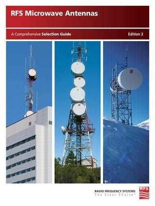 rfs microwave antennas  radio frequency systems issuu