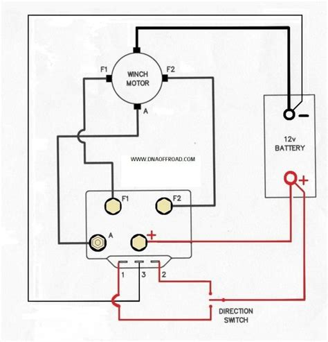 warn atv winch solenoid wiring diagram with blueprint pics