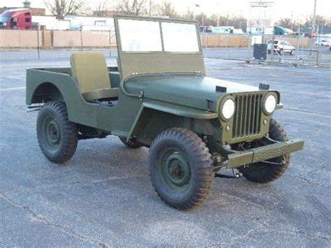 Jeep Cj2a For Sale Purchase New Vehicles Cj2a Antique Restored World