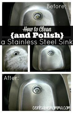 how to keep stainless steel sink shiny 1000 ideas about cleaning stainless steel on