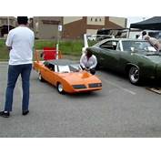 1970 Plymouth Superbird 1/2 Scale Gocart  YouTube