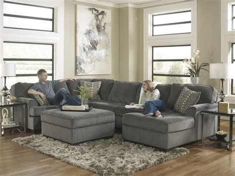 ashley furniture loric sectional ashley furniture loric smoke contemporary 3 piece