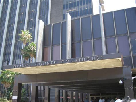 Orange County Ca Superior Court Search Controversial New High Frequency Litigant Fees Orange County Superior