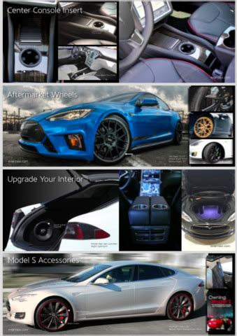 Tesla Accessories Tesla Model S Aftermarket Accessories Catalog Evannex