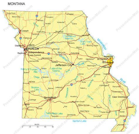 missouri map and cities missouri map and missouri satellite images