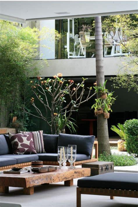 wie mit bambusst bchen dekorieren 60 ideen wie sie die terrasse dekorieren k 246 nnen