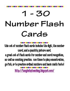 printable number flashcards 1 30 free worksheets 187 printable numbers 1 30 free math