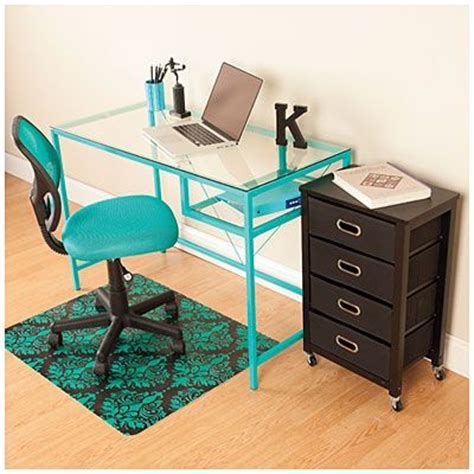 aqua office furniture set at big lots furnished - Big Lots Office Desk