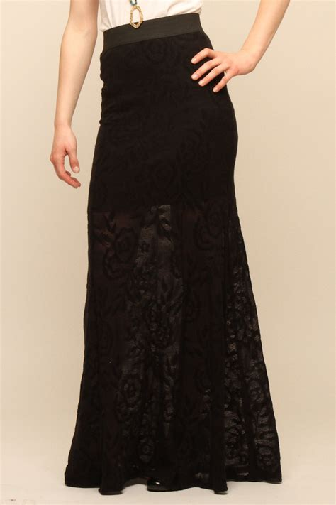 freshshine lace maxi skirt from miami by prinzzesa