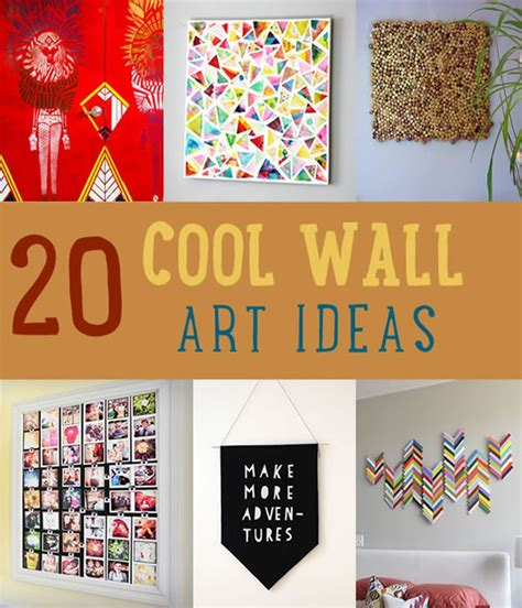 cool home decor wall art ideas diy tutorials