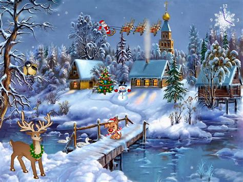 wallpapers christmas screensavers free christmas screensaver christmas symphony