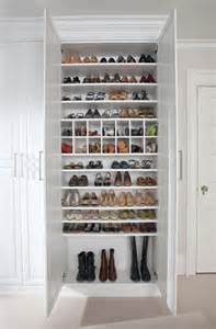 Shoe Storage In Closet by Custom Shoe Closet Traditional Closet New York By