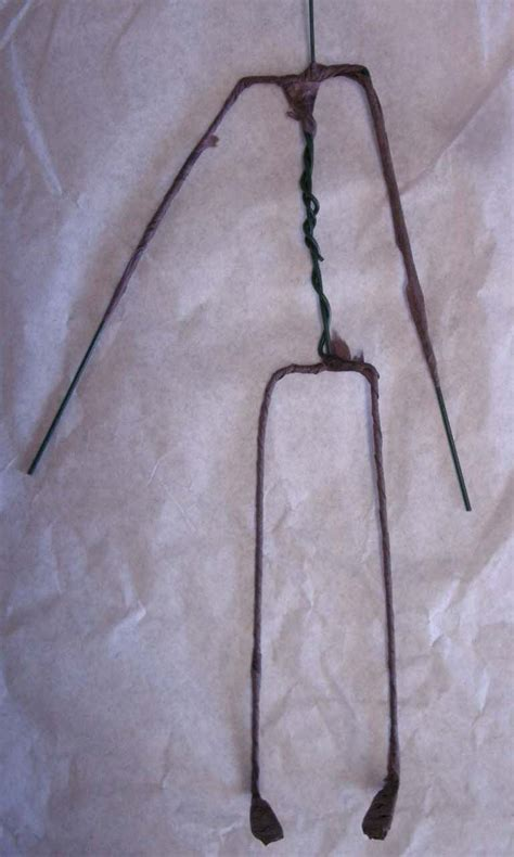doll armature wire armature for a doll tip junkie