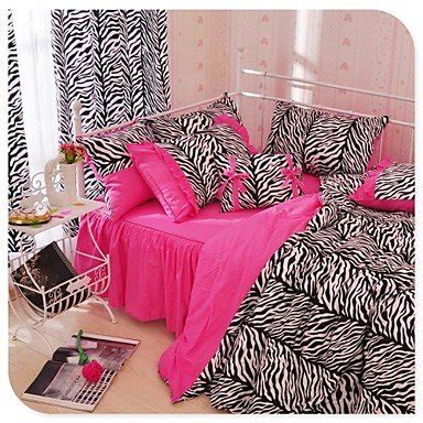 living animal print duvet cover set kingsize ch ch zebra leopard duvet cover set zebra print bedding pink black bedding buy