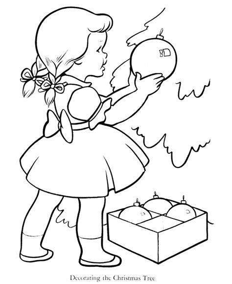 new year tree coloring page creation bible story for children coloring home