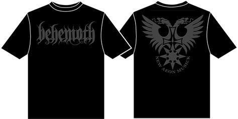Behemoth Pandemonic Incantatlons 100 Licensed Shirt behemoth logo t shirt new official ebay
