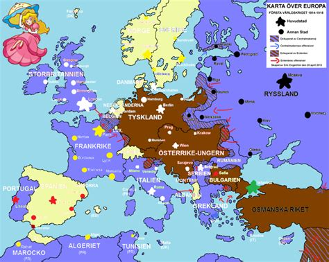 drawned map  europe  ww  ericvonschweetz