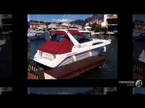 sea ray boats youtube sea ray 270 sundancer power boat sport boat year 1990