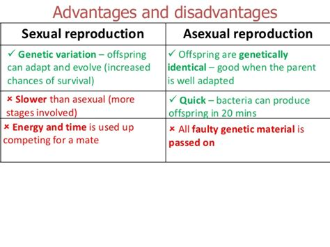 why is sexual reproduction better than asexual reproduction types of reproduction cuttings